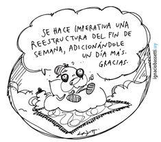 #findesemana #domingo #elgurígurú #humorgráfico #historietas #humor #comic #comics www.ignaciobassetti.uy