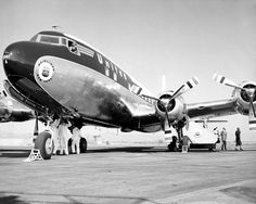 Douglas DC-6, Photo by United Airlines, 1952 // H.Factory