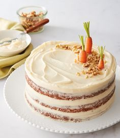 Food Cakes, Cupcake Cakes, Easy Desserts, Dessert Recipes, French Desserts, Cupcake Recipes, Baking Recipes, Delicious Desserts, Carrot Cake Decoration