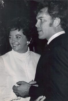 emily mclaughlin (General Hospital- Nurse Jessie) and jeffrey hunter images Hollywood Couples, Hollywood Stars, Classic Hollywood, Old Hollywood, Actors Male, Actors & Actresses, Barbara Rush, Jeffrey Hunter, Old Celebrities