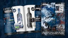 Eristoff Vodka - Bring On The Night #adv #wolf #design #beverage