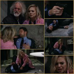 faison shoots nathan (his son) while taking maxie hostage.  nathan dies later leaving maxie a widow and single mom to be general hospital 2/1/2018