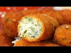 Palitos de Mozzarella y espinacas