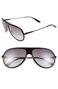 Carrera Eyewear 61mm Aviator Sunglasses available at #Nordstrom