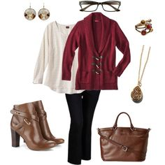 Fall 2 (plus size outfit) #plussize