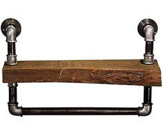 Полочка  - массив дуба, 17х35х50 см