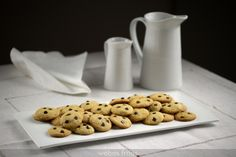Galletas tipo «Chips Ahoy» Chips Ahoy, Cookies, Cookie Recipes, Biscuits, Bakery, Deserts, Favorite Recipes, Breakfast, Sweet