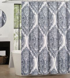Gray Shower Curtains On Pinterest Shower Curtains Curtains And Chevron Sho