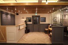 美容室の内装デザインの施工例