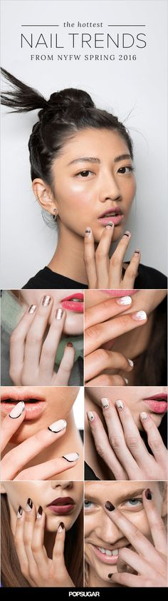 Nail art ideas from the runway to try out right now.