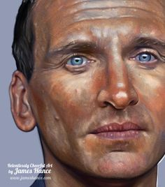 Christopher Eccleston by James Hance