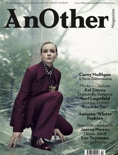 Carey Mulligan, AnOther Magazine [United Kingdom] (December 2012)