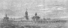 The new pier, New Brighton 1867