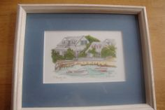 A Family Is. by Elyse Wasile Bahamas Watercolor Print