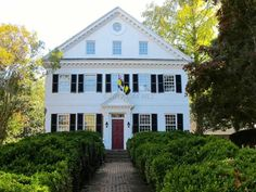 Historic Chanceford Hall, one of The State of Maryland's top 100 homes listed on the National Historic Register this Federal Era Mansion features Old House Dreams, Home List, Windows And Doors, New Kitchen, Old Houses, Real Estate, High Ceilings, Mansions, Sheds