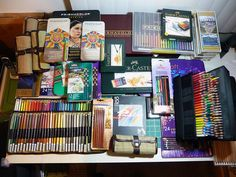 Colored Pencil Sets Collection 1 by betolung on Flickr.