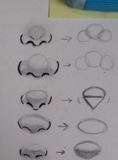 Different nose shapes. - - Christmasen -Different nose shapes. – Different nose shapes. Art Drawings Sketches Simple, Pencil Art Drawings, Sketch Art, Anime Sketch, Cute Love Drawings, Sketch Nose, Awesome Sketches, Dragon Drawings, Face Drawings