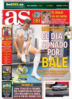 Los Titulares y Portadas de Noticias Destacadas Españolas del 22 de Septiembre de 2013 del Diario Deportivo AS ¿Que le pareció esta Portada de este Diario Español?