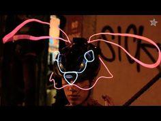EL Wire Animal Masks for Halloween #halloween #elwire #mask #halloweenmask #diymask #diyhalloween #electronichalloween #electronics #wearableelectronics