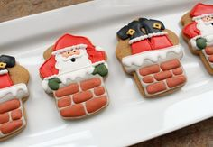 Santa - 10 of the Cutest Christmas Sugar Cookies Ever
