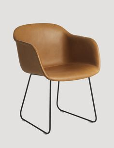 The FIBER ARMCHAIR has been designed to balance maximum comfort with minimum space. The chair has been produced from an innovative bio-composite material that includes 25% wood fibres. From a distance, the shell appears to be normal smooth plastic, however, when viewed up close the tiny pieces of the wooden fibres become apparent, giving the chair a whole new character. With the addition of four different bases, FIBER has flourished into a fully-fledged family of 39 chairs, confident of…