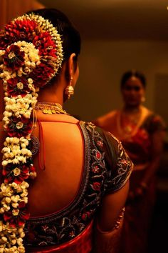 Beautiful South Indian Bridal Hair #BridalHair