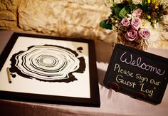 Guest Log Poster Guest Book Idea  // Jake Holt Photography