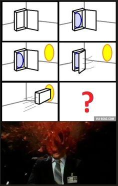 Portal Mindf**k - Humor All Meme, Stupid Memes, Stupid Funny, Dankest Memes, Jokes, Portal Memes, Portal 2, Best Funny Pictures, Funny Images