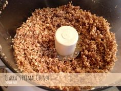 Ciarra's Primal Crunch | Popular Paleo - made it!  good stuff,.  omitted the coconut sugar.  dates are sweet enough!!