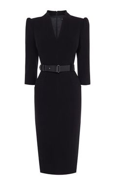 Whatever the occasion – be it work or play – our collection of exclusive dresses is filled with endless possibilities and beautiful looks. Elegant Outfit, Classy Dress, Classy Outfits, Black Dress Outfits, Dress Black, Black Pencil Dress, Black Dress Accessories, Professional Outfits, Business Professional