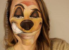 El trabajo de la maquilladora Sandra Holmbom