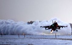 A unique way to clear the snow off the runway: http://airfactsjournal.com/2014/12/shifting-snow-point-return/
