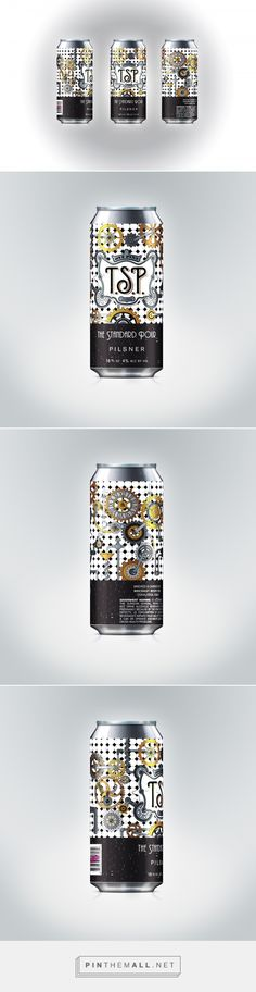 The Standard Pour - Packaging of the World - Creative Package Design Gallery - http://www.packagingoftheworld.com/2016/07/the-standard-pour.html