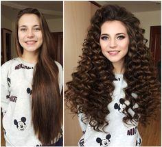 Укладка на прямые волосы, полностью из своих волос без доп.прядей и трессов.