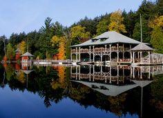 Saranac Lake, Adirondack Mts, NY, USA
