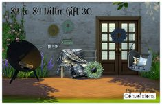 Sims 4 CC's - The Best: TS3 Outdoor Conversions by 13Pumpkin31