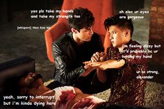 #TMI #shadowhutners | Magnus and Alec moment | Malec | Poor Luke