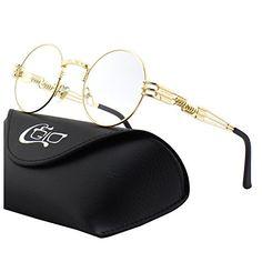 CGID E73 Steampunk estilo retro inspirado círculo metálico redondo gafas de sol polarizadas para hombres Steampunk, Estilo Retro, Lifestyle, Bags, Fashion, Sunglasses, Lenses, Mens Sunglasses, Curvy Women