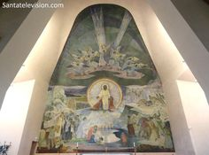 Inside the church of Rovaniemi in Lapland in Finland