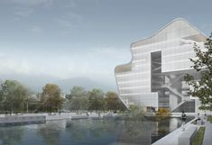 Steven Holl Architects has unveiled their design for a new public library and museum in a developing area of Shenzhen, China. With the goal of...
