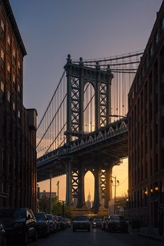 Brooklyn Bridge, New York, USA. 1x - by David Martín Castán