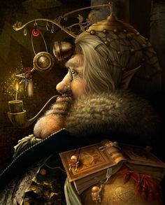 Fairytaler by Georgi Markov - Steampunk Illustrations and Computer-generated Imagery