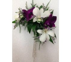 Dendrobium Orchid Hair Piece  Item OF-104
