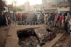 Eleven people including five children die in bomb blast in Karachi. August 7th 2013, Karachi. http://www.demotix.com/photo/2371437/eleven-people-including-five-children-die-bomb-blast-karachi=1