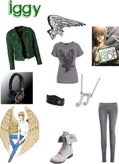 """""""Iggy!!!! (maximum ride character)"""" by viprose ❤ liked on Polyvore"""