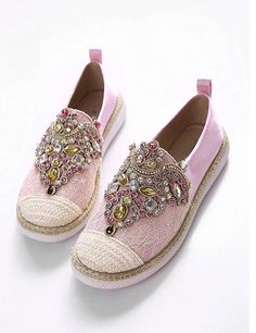 Hot sales 2016 women fashion Flats Shoes Spring Autumn Comfortable Women Loafer shoes Slip-On Round Toe Rhinestone Casual Shoes