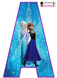 Alfabeto Frozen da Disney - Pesquisa Google