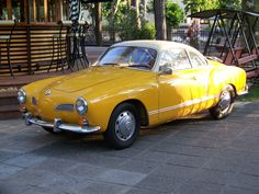 Volkswagen Karmann Ghia.  #volkswagen  #car  #automobile