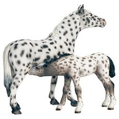 Schleich® Knabstrupper Mare Figure ... have both of these