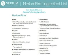 If it isn't natural... it doesn't belong on your skin. It's time to get serious with your cellulite and firm up your skin! http://www.nerium.com/ContourCream.aspx?ID=agelessperfection